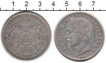 Изображение Монеты Европа Франция 5 франков 1869 Серебро XF