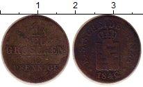 Изображение Монеты Германия Саксония 1 грош 1842 Серебро VF