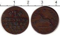 Изображение Монеты Германия Брауншвайг-Люнебург 1 пфенниг 1826 Медь VF