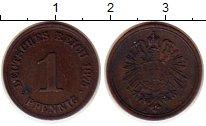 Изображение Монеты Германия 1 пфенниг 1875 Медь XF