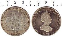 Изображение Монеты Острова Кука 1 доллар 2007 Медно-никель UNC- Адмирал Нельсон,на к