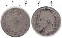 Изображение Монеты Франция 1 франк 1866 Серебро VF