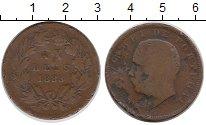 Изображение Монеты Европа Португалия 20 рейс 1883 Бронза VF