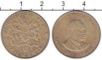 Изображение Монеты Кения 10 центов 1984 Латунь XF