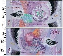 Изображение Банкноты Вануату 500 вату 2017  UNC