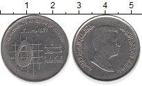 Изображение Дешевые монеты Иордания 5 пиастров 2000 Не указан VF