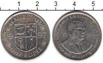 Изображение Дешевые монеты Маврикий 1 рупия 1997  VF