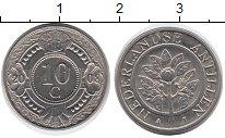 Изображение Дешевые монеты Нидерланды Антильские острова 10 центов 2008 Сталь XF