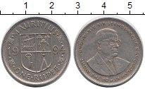 Изображение Дешевые монеты Маврикий 1 рупия 1994 Медно-никель VF