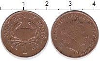 Изображение Дешевые монеты Гернси 1 пенни 1998 Медь XF