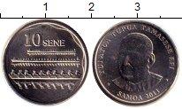 Изображение Дешевые монеты Самоа 10 сене 2011 Не указан UNC