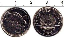 Изображение Дешевые монеты Новая Гвинея 5 кин 2009 Не указан AUNC
