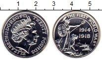 Изображение Монеты Европа Великобритания 20 фунтов 2014 Серебро UNC