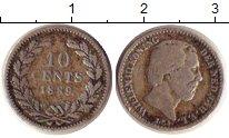 Изображение Монеты Нидерланды 10 центов 1889 Серебро VF Виллем III