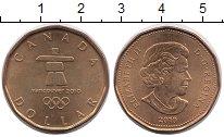 Изображение Монеты Канада 1 доллар 2010 Латунь UNC-