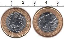 Изображение Монеты Бразилия 1 реал 2014 Биметалл UNC Олимпиада 2016 в Рио