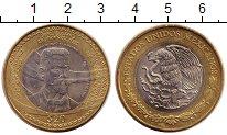 Изображение Монеты Мексика 20 песо 2013 Биметалл UNC-