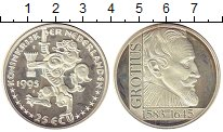 Изображение Монеты Европа Нидерланды 25 экю 1995 Серебро Proof-