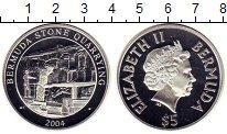 Изображение Монеты Бермудские острова 5 долларов 2004 Серебро Proof