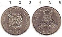 Изображение Монеты Европа Польша 100 злотых 1987 Медно-никель XF