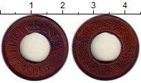 Изображение Монеты Индия 1 пайс 1945 Медь XF Георг VI