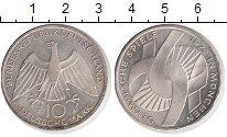 Изображение Монеты Германия ФРГ 10 марок 1972 Серебро XF