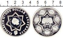 Изображение Монеты Австралия и Океания Австралия 25 центов 2001 Серебро Proof