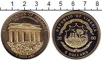 Изображение Монеты Африка Либерия 5 долларов 2000 Медно-никель UNC-