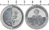 Изображение Монеты Нидерланды 5 евро 2010 Посеребрение Proof-