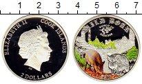Изображение Мелочь Острова Кука 2 доллара 2014 Серебро Proof
