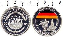 Изображение Монеты Либерия 10 долларов 2005 Серебро UNC Чемпионат Мира по фу