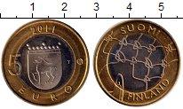 Изображение Монеты Финляндия 5 евро 2011 Биметалл UNC-