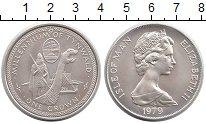 Изображение Монеты Остров Мэн 1 крона 1979 Серебро UNC-