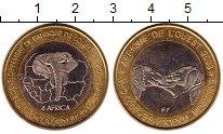 Изображение Монеты Африка Того 6000 франков 2003 Биметалл UNC-