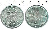 Изображение Монеты Европа Португалия 20 эскудо 1966 Серебро UNC-