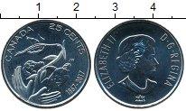 Изображение Мелочь Канада 25 центов 2017 Медно-никель UNC 150 лет Конфедерации