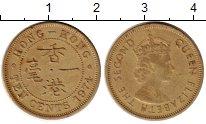 Изображение Монеты Гонконг 10 центов 1974 Латунь XF Елизавета II