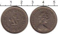 Изображение Монеты Гонконг 1 доллар 1978 Медно-никель XF Елизавета II. Гераль