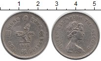 Изображение Монеты Китай Гонконг 1 доллар 1978 Медно-никель XF