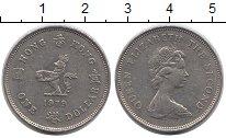 Изображение Монеты Гонконг 1 доллар 1979 Медно-никель XF Елизавета II