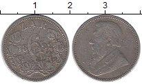 Изображение Монеты Африка ЮАР 6 пенсов 1892 Серебро VF