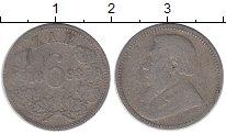 Изображение Монеты Африка ЮАР 6 пенсов 1893 Серебро VF