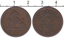 Изображение Монеты Бельгия 2 цента 1893 Бронза VF