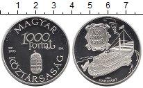 Изображение Монеты Венгрия 1000 форинтов 1995 Серебро Proof-