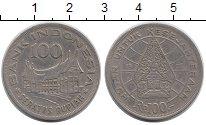 Изображение Монеты Азия Индонезия 100 рупий 1978 Медно-никель XF
