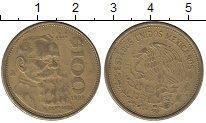 Изображение Монеты Северная Америка Мексика 100 песо 1992 Латунь XF