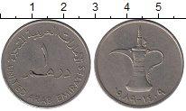 Изображение Монеты Азия ОАЭ 1 дирхам 1989 Медно-никель XF
