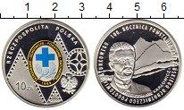 Изображение Монеты Польша 10 злотых 2009 Серебро Proof 100  лет  со  дня  с