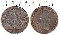 Изображение Монеты Саксония 1 талер 1766 Серебро XF-