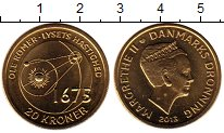 Изображение Монеты Европа Дания 20 крон 2013 Латунь UNC-